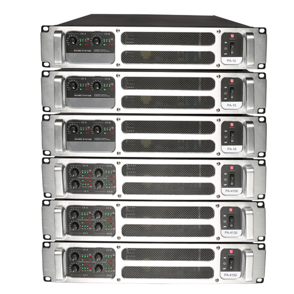 PA-8  800W*2/8ohm 1200W*2/4ohm switching amplifier